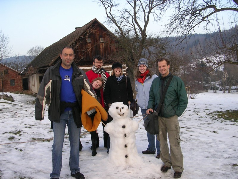 Pictures Of Fluffy Snow In Countryside Of Czech Republic