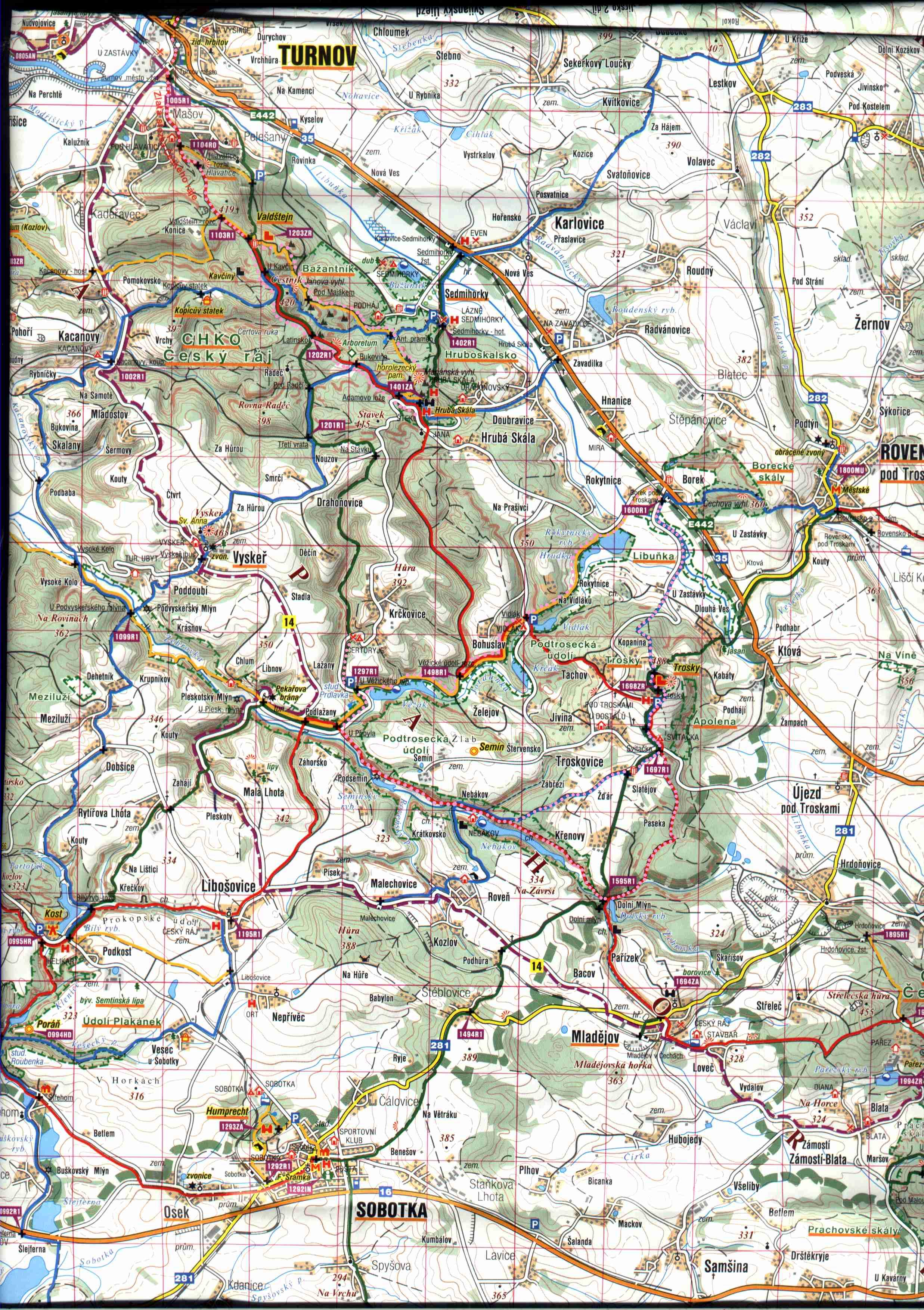 Transport Info of Cesky Raj