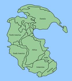 Africa in Pangaea